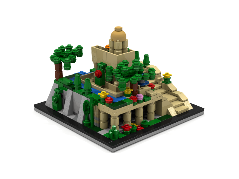 LEGO IDEAS - Product Ideas - Ancient Wonder: The Hanging Gardens of ...