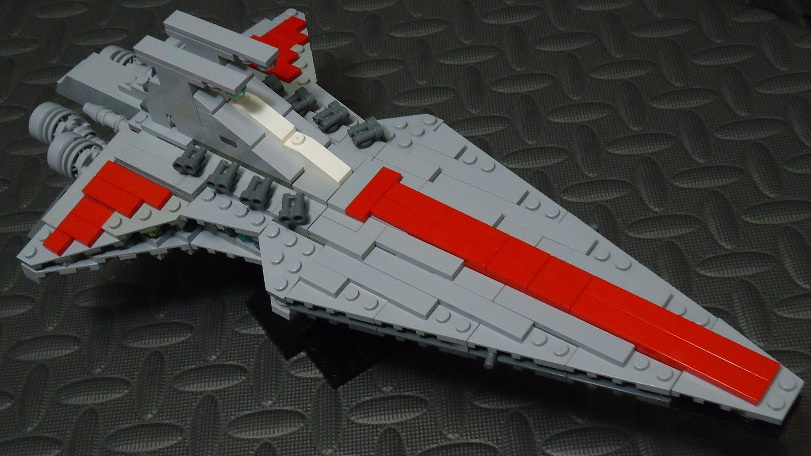 Lego Ideas Product Ideas Republic Attack Cruiser Venator Class