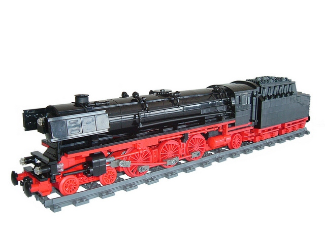 Lego Ideas Product Ideas German Steam Engine Br01 1075
