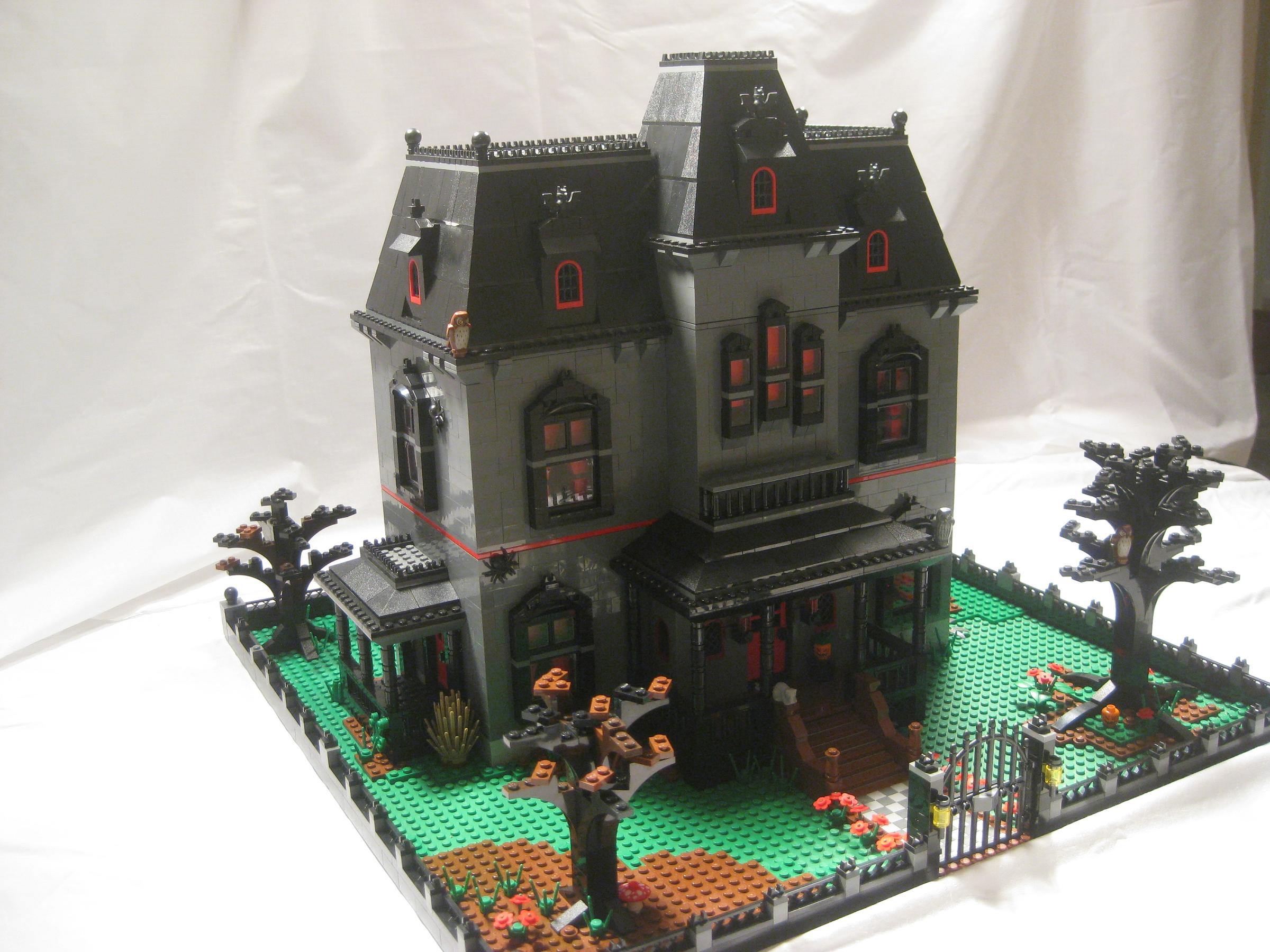 Lego Ideas Product Ideas Haunted Mansion