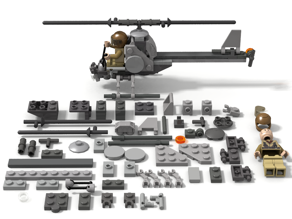 Lego Ideas Product Ideas The Smallest Helicopter Ever