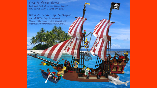 Lego Ideas Product Ideas Pirate Ship Working Rudder Crane