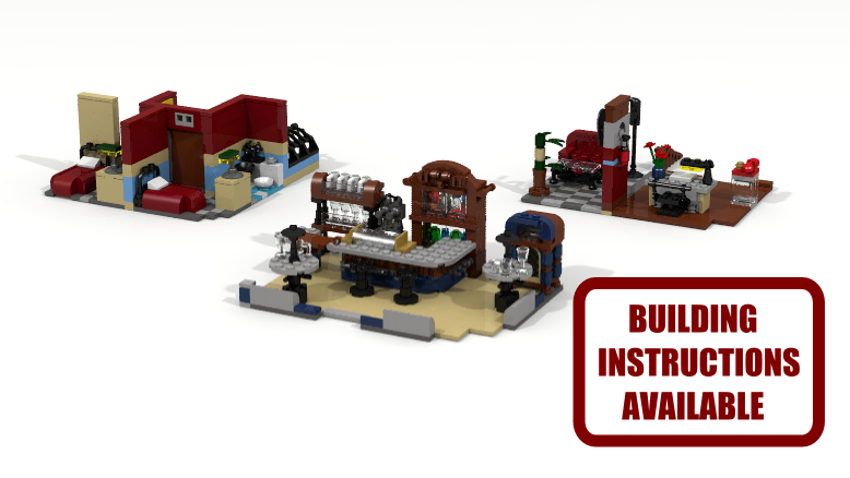 Lego Ideas Product Ideas Interior For 10182 Caf Corner