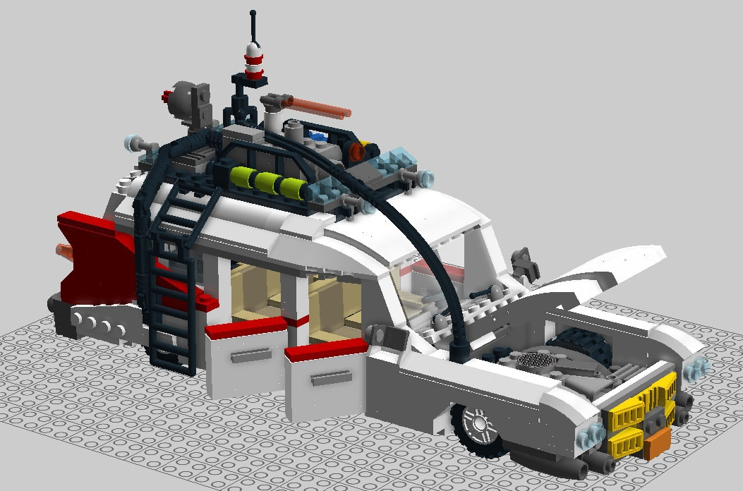 lego ideas product ideas ghostbusters ecto 1. Black Bedroom Furniture Sets. Home Design Ideas