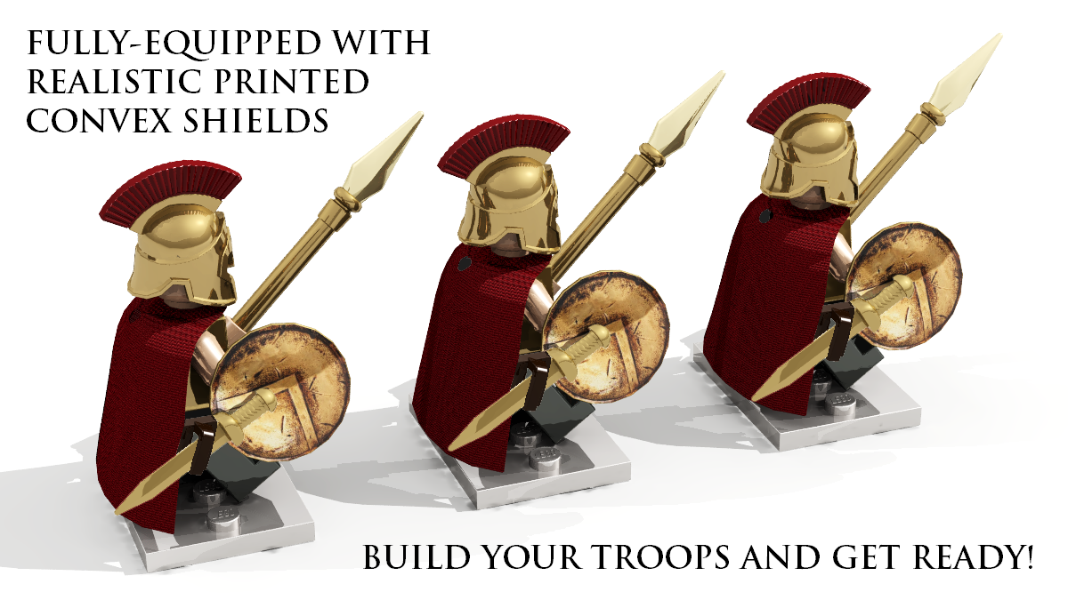 LEGO IDEAS - Product Ideas - Level 7: Sparta Amasses its Numbers