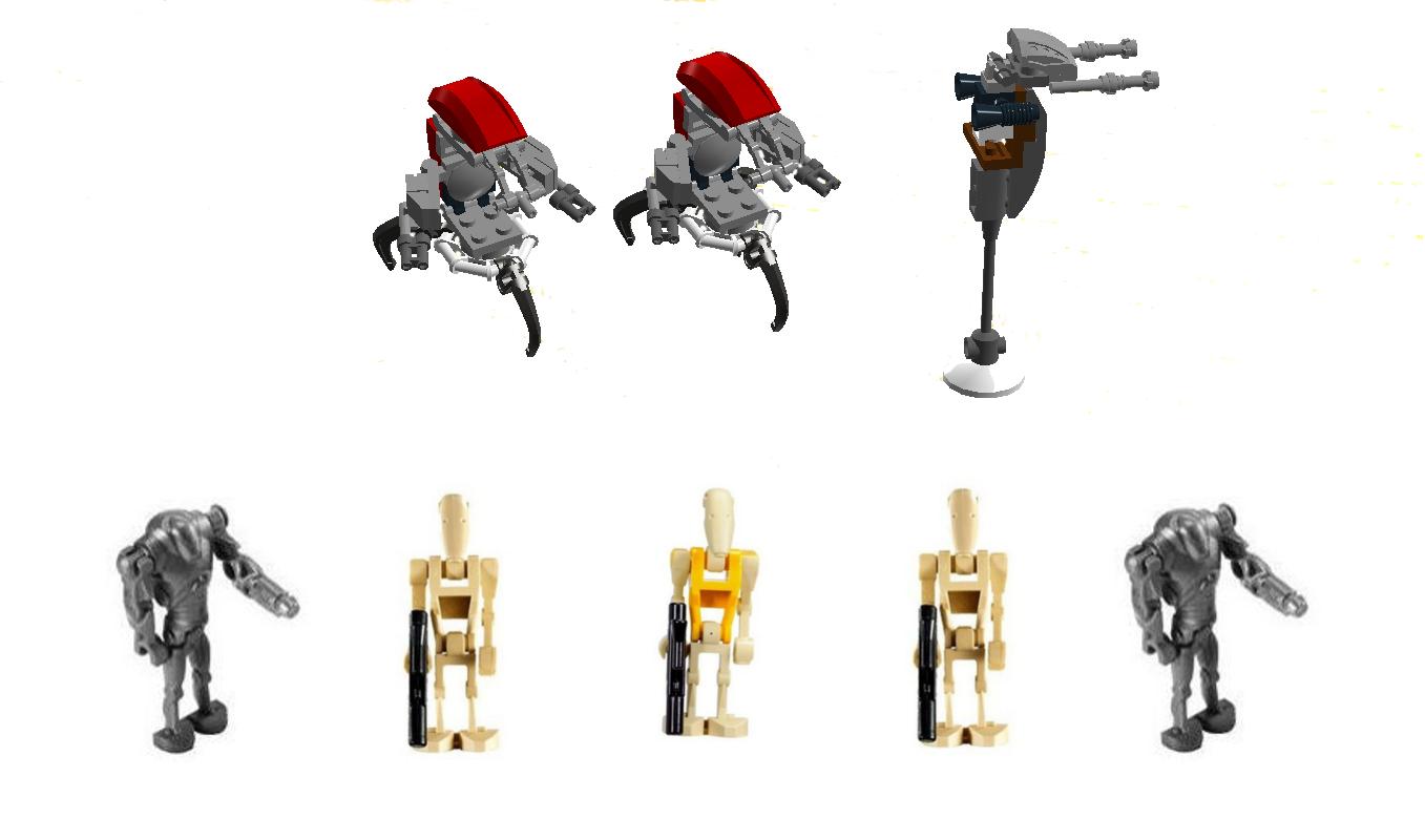 Lego Ideas Product Ideas Heavy Battle Droids Battle Pack