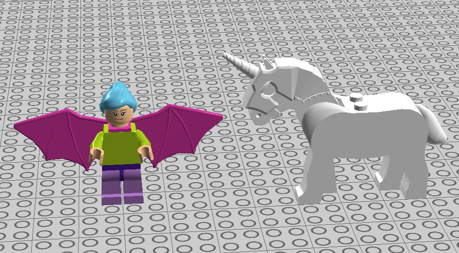 LEGO IDEAS - Mystical Fairy With Unicorn