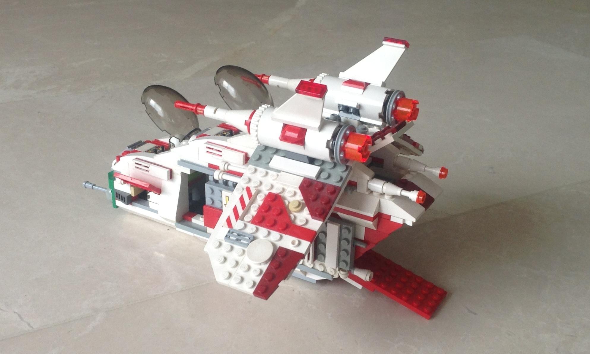 Lego Ideas Product Ideas Republic Attack Gunship