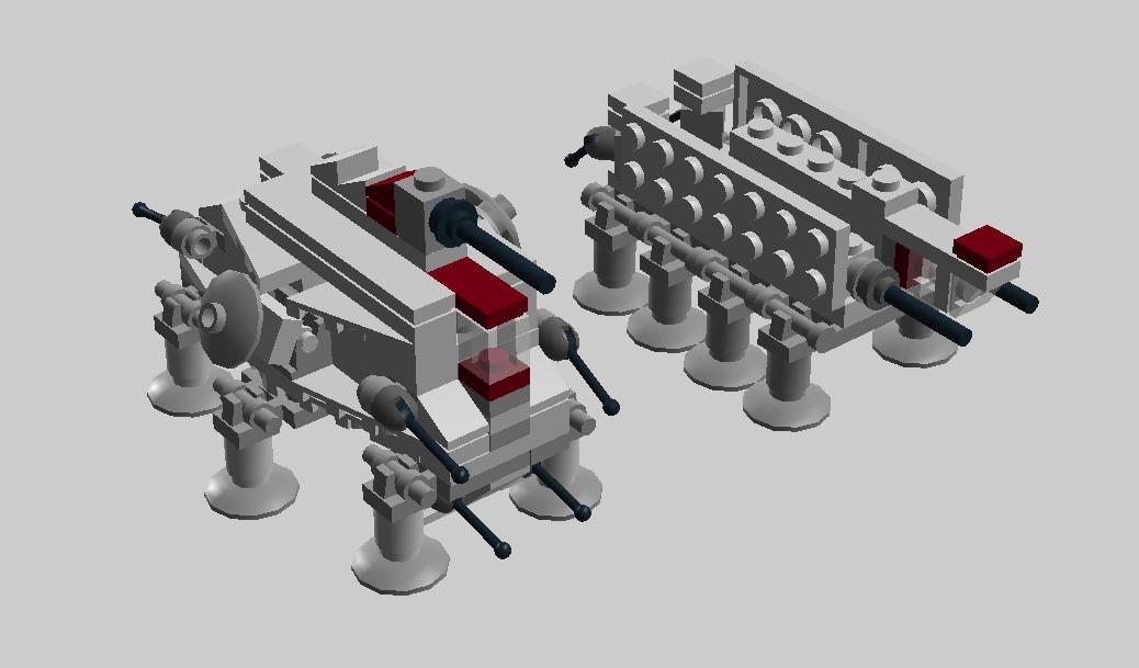 Lego Ideas Product Ideas Mini Republic Dropship Laatc With At