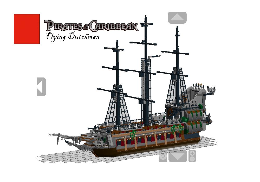 Lego Ideas Product Ideas Pirates Of The Caribbean Flying Dutchman