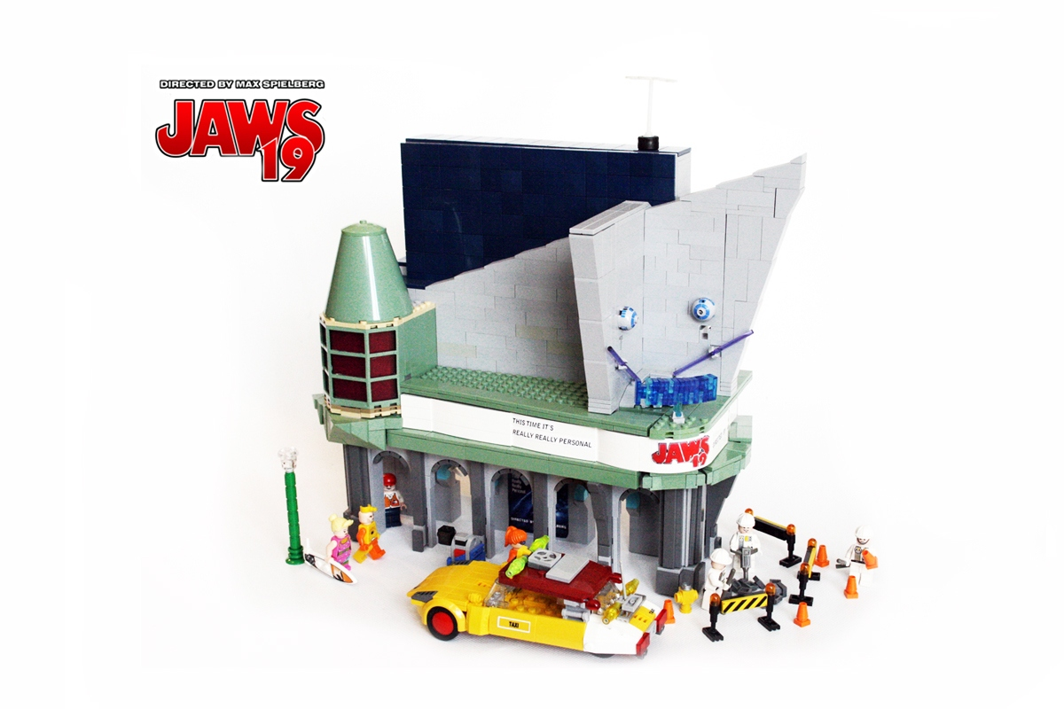 LEGO IDEAS - Product Ideas - BTTF 2015 HILL VALLEY Jaws 19