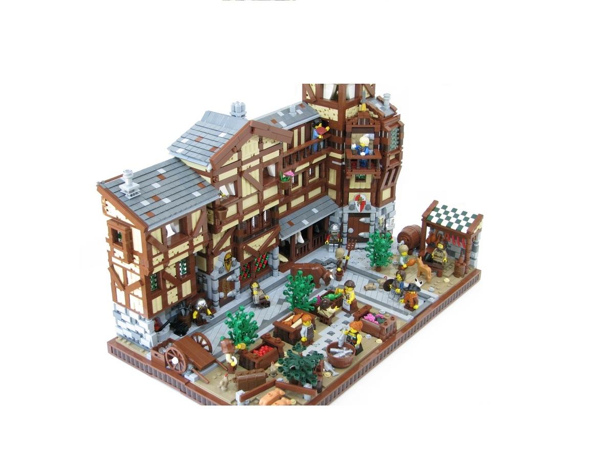 LEGO IDEAS - Product Ideas - Medieval Market Street