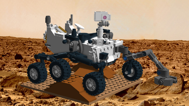 Lego Ideas Product Ideas Mars Science Laboratory Curiosity Rover
