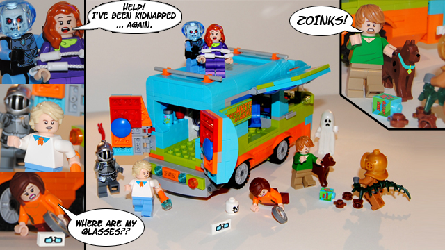 Lego Ideas Scooby Doo And Mystery Inc Lego Set