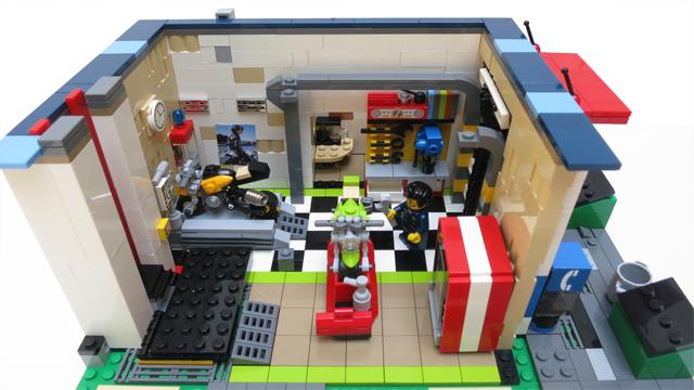 Lego Ideas Product Ideas Urban Moto A Modular Motorcycle Shop