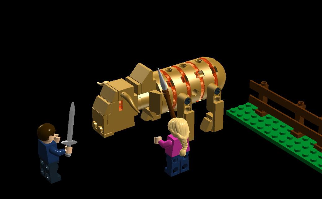 LEGO IDEAS - Percy Jackson & the Olympians: The Sea of ...  Lego Percy Jackson Luke