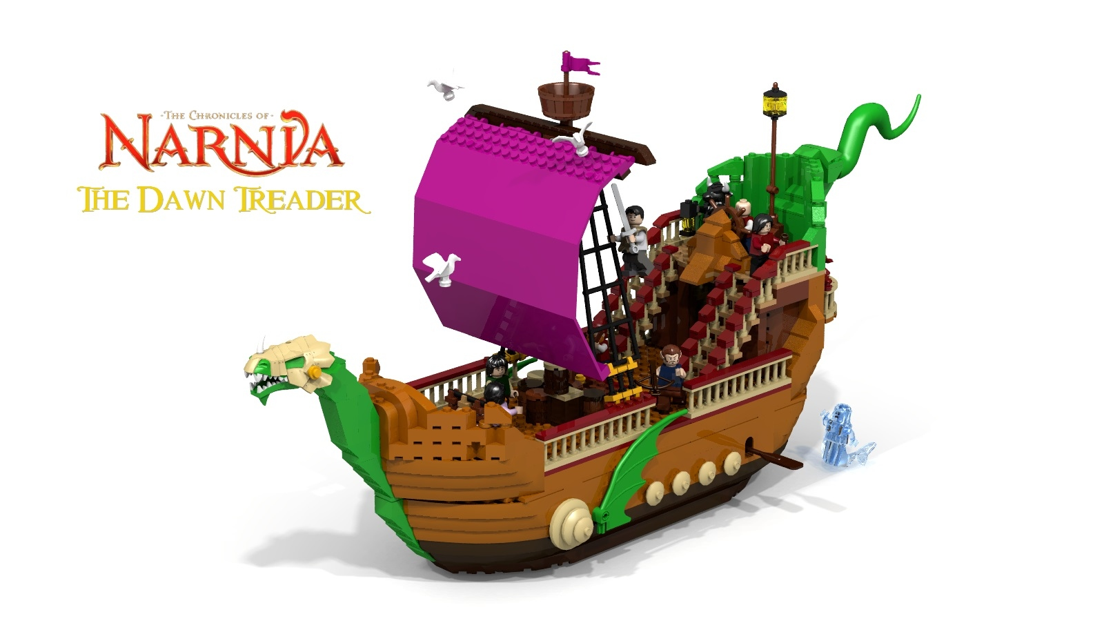 lego ideas product ideas narnia the dawn treader