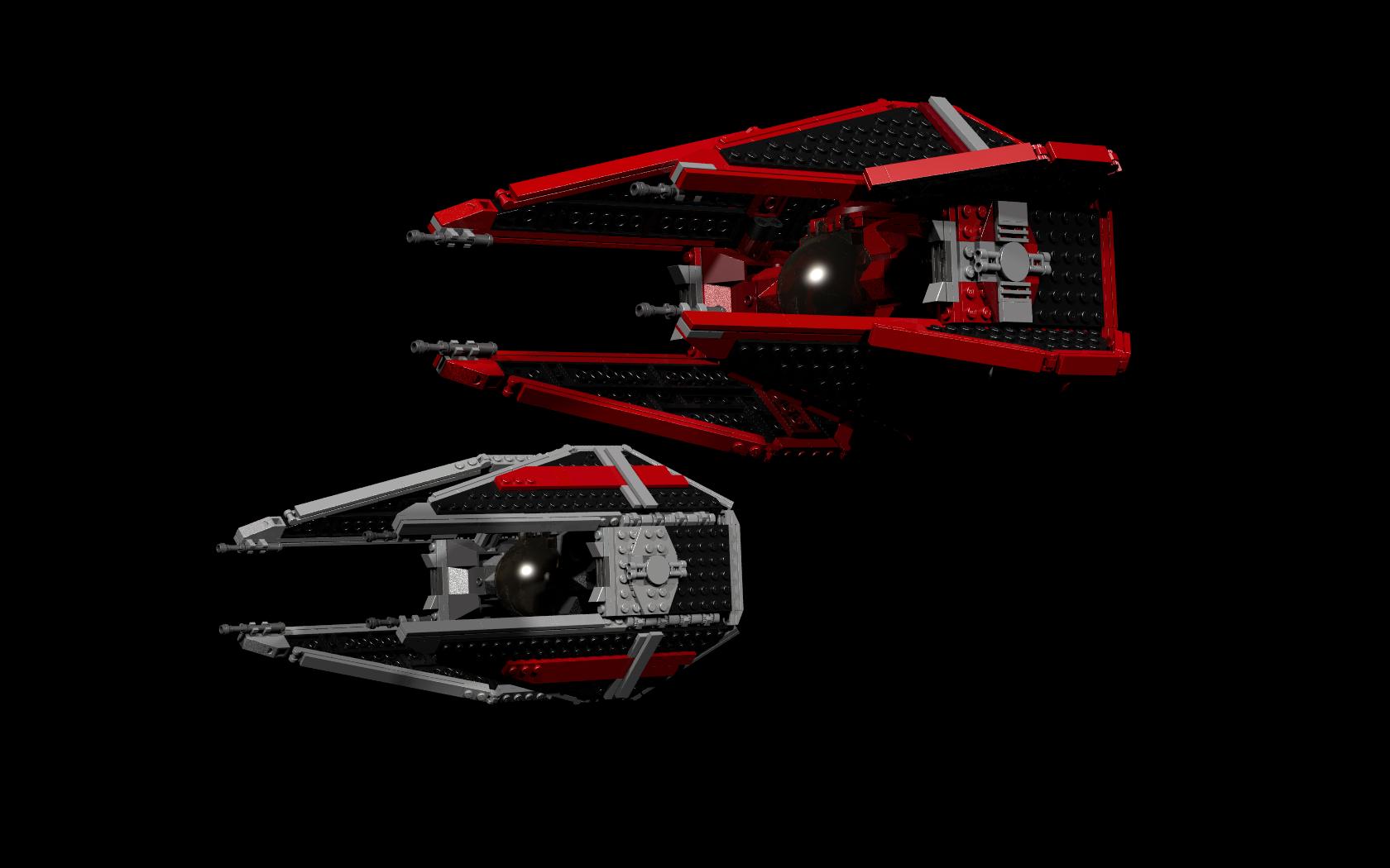 Lego Ideas Tie Interceptor Royal Guard Variant