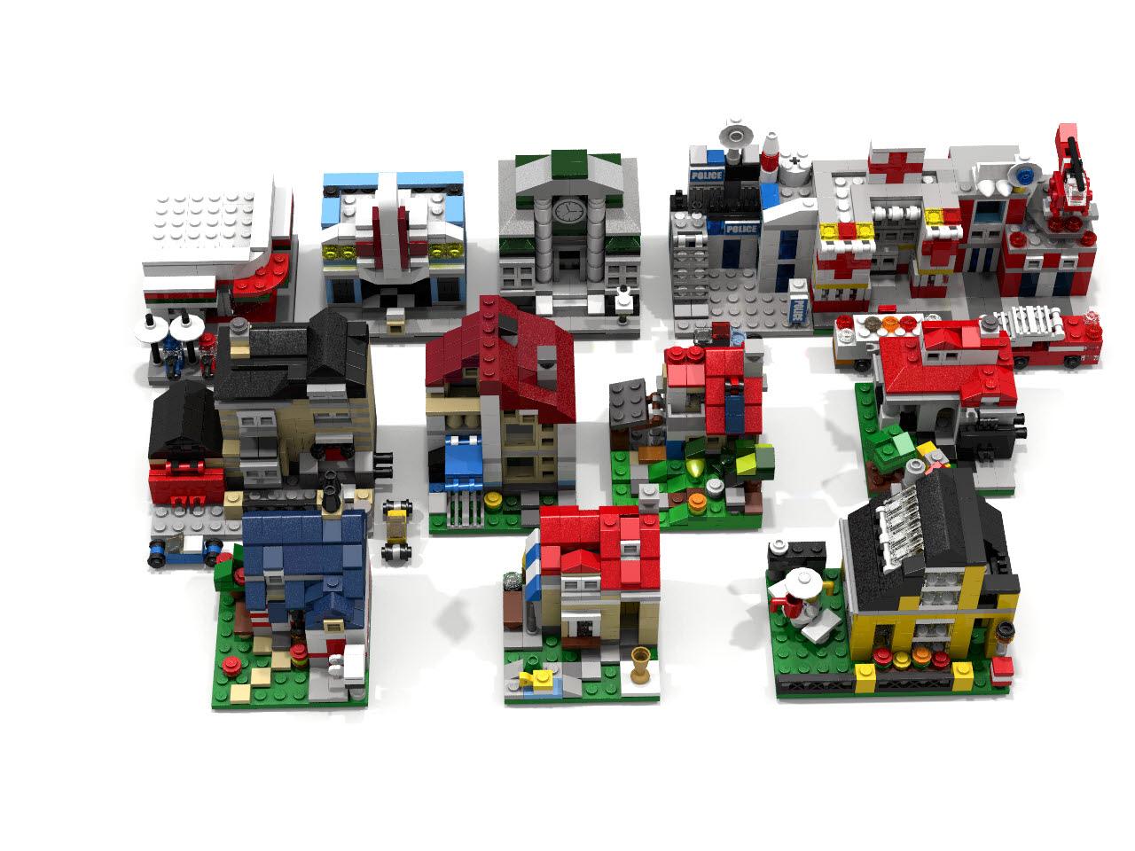 Lego Ideas Product Ideas Mini Creator House Upgraded