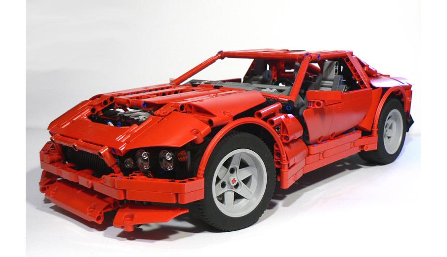 LEGO IDEAS - - Red Coupé V12