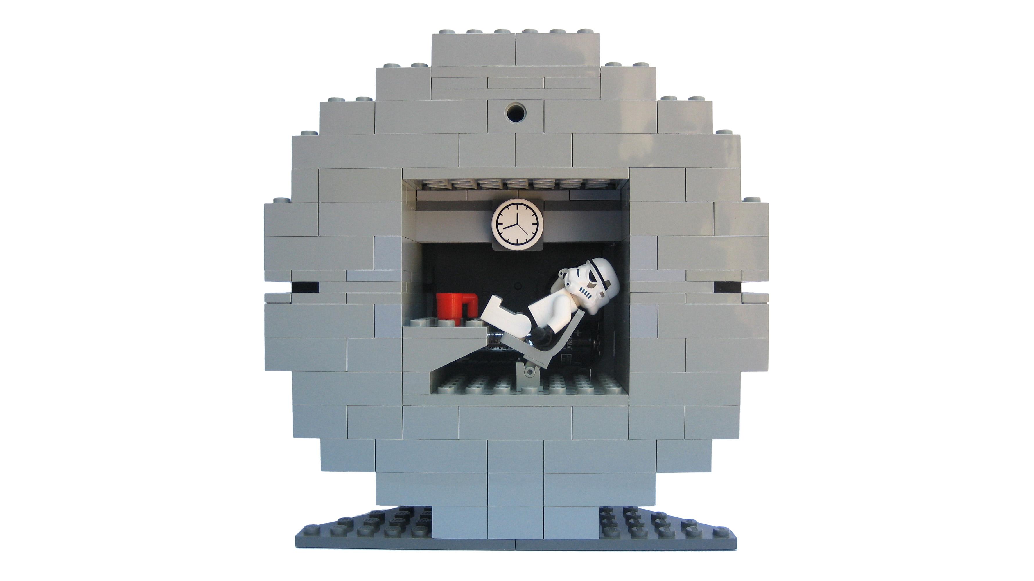 The Death Star Ii Roblox Lego Ideas Death Star Ii Clock