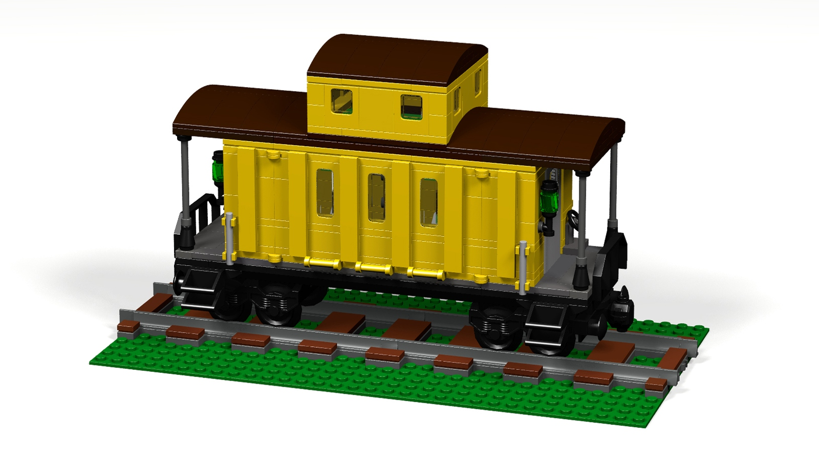LEGO IDEAS - Product Ideas - Caboose Motel