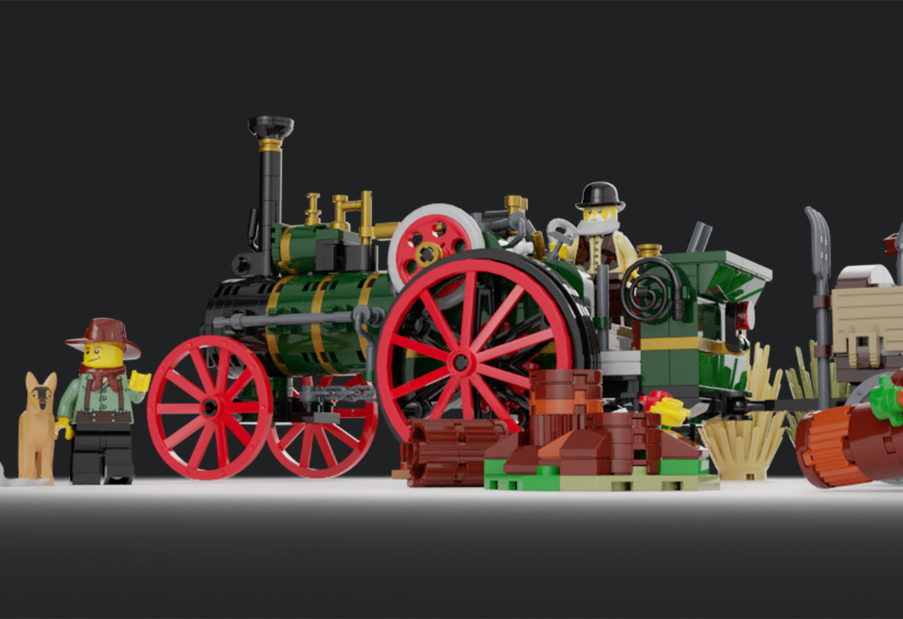 LEGO IDEAS - Product Ideas - The Old Workhorse - Traction Engine