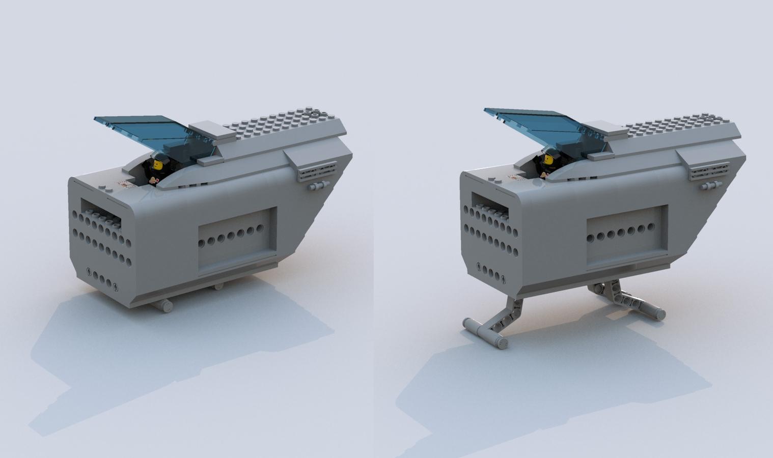 LEGO IDEAS - Product Ideas - Modular Starfighter