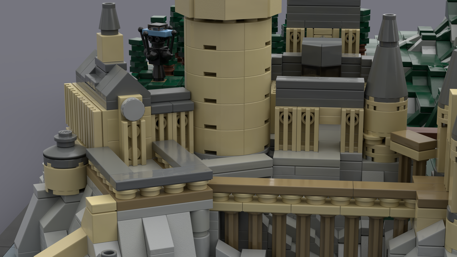 Lego Ideas Product Ideas Hogwarts Castle Miniature Model