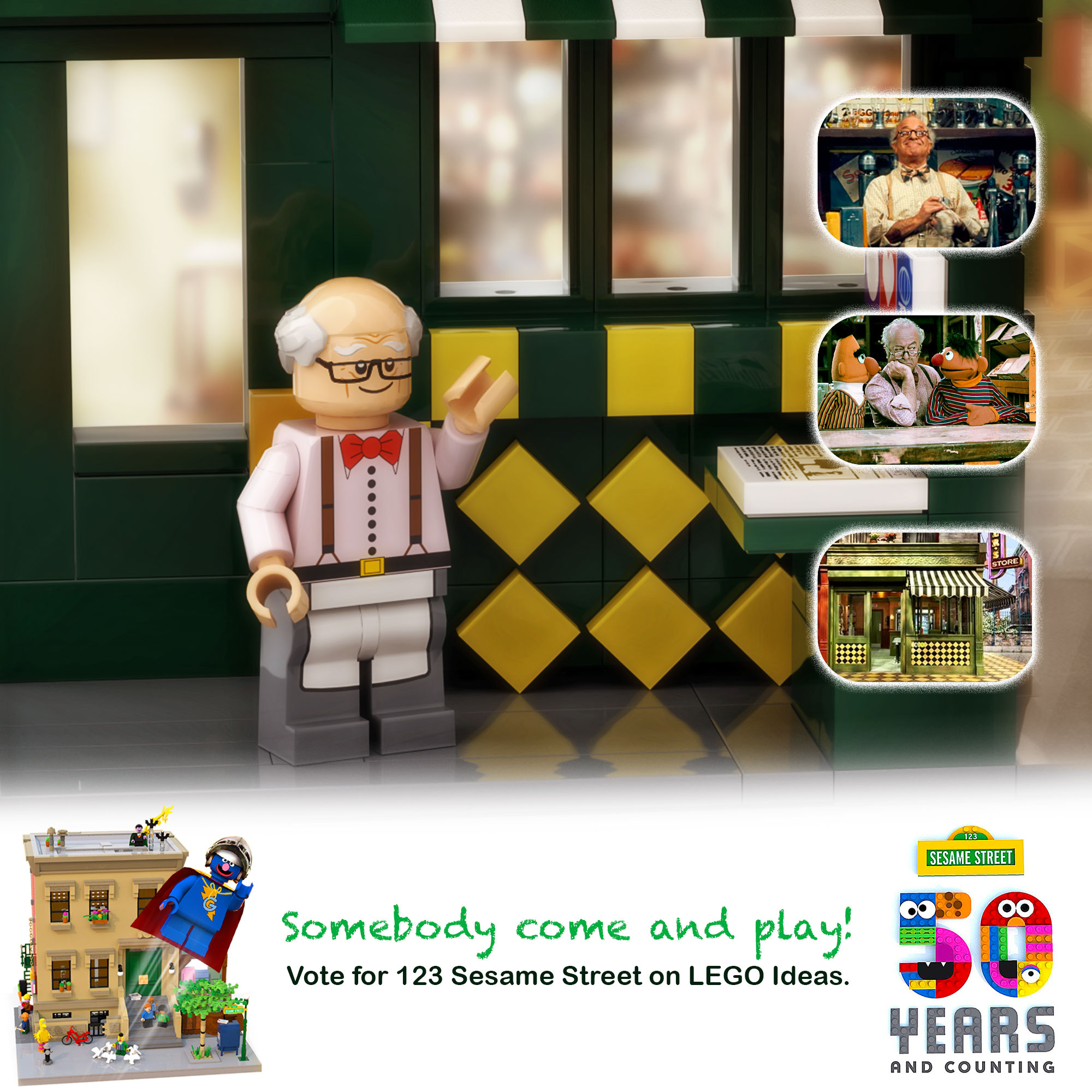 Sesame Street The Letter Of The Month Club.Lego Ideas Product Ideas 123 Sesame Street