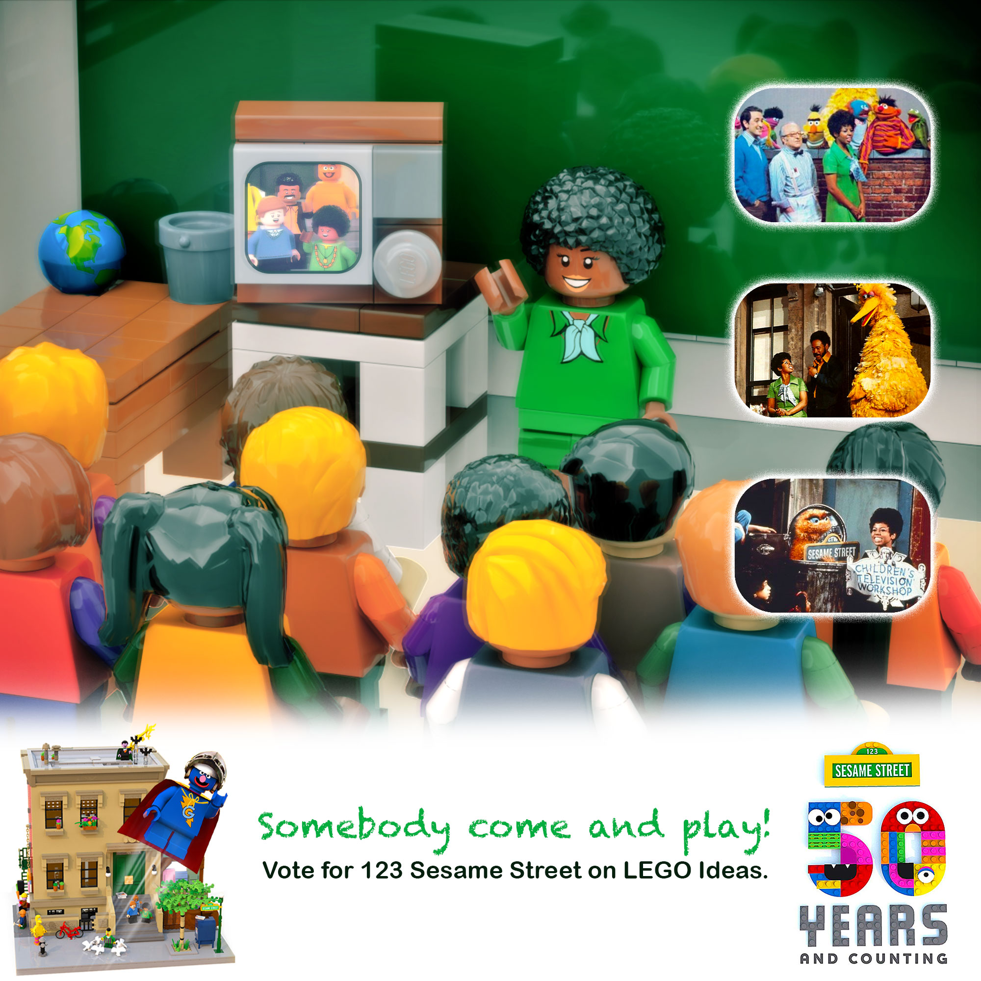 LEGO IDEAS - Product Ideas - 123 Sesame Street