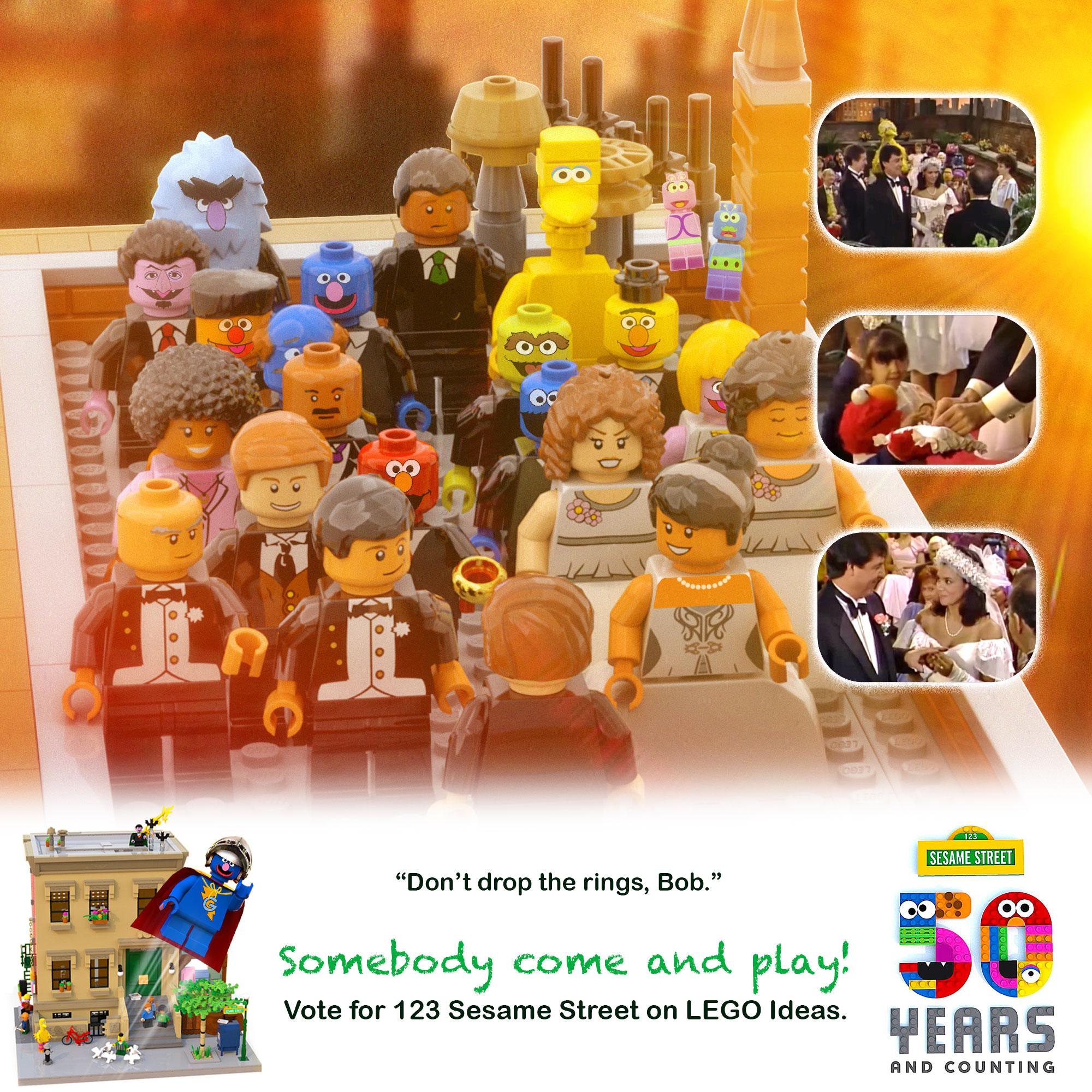 LEGO IDEAS - Product Ideas - 123 Sesame Street