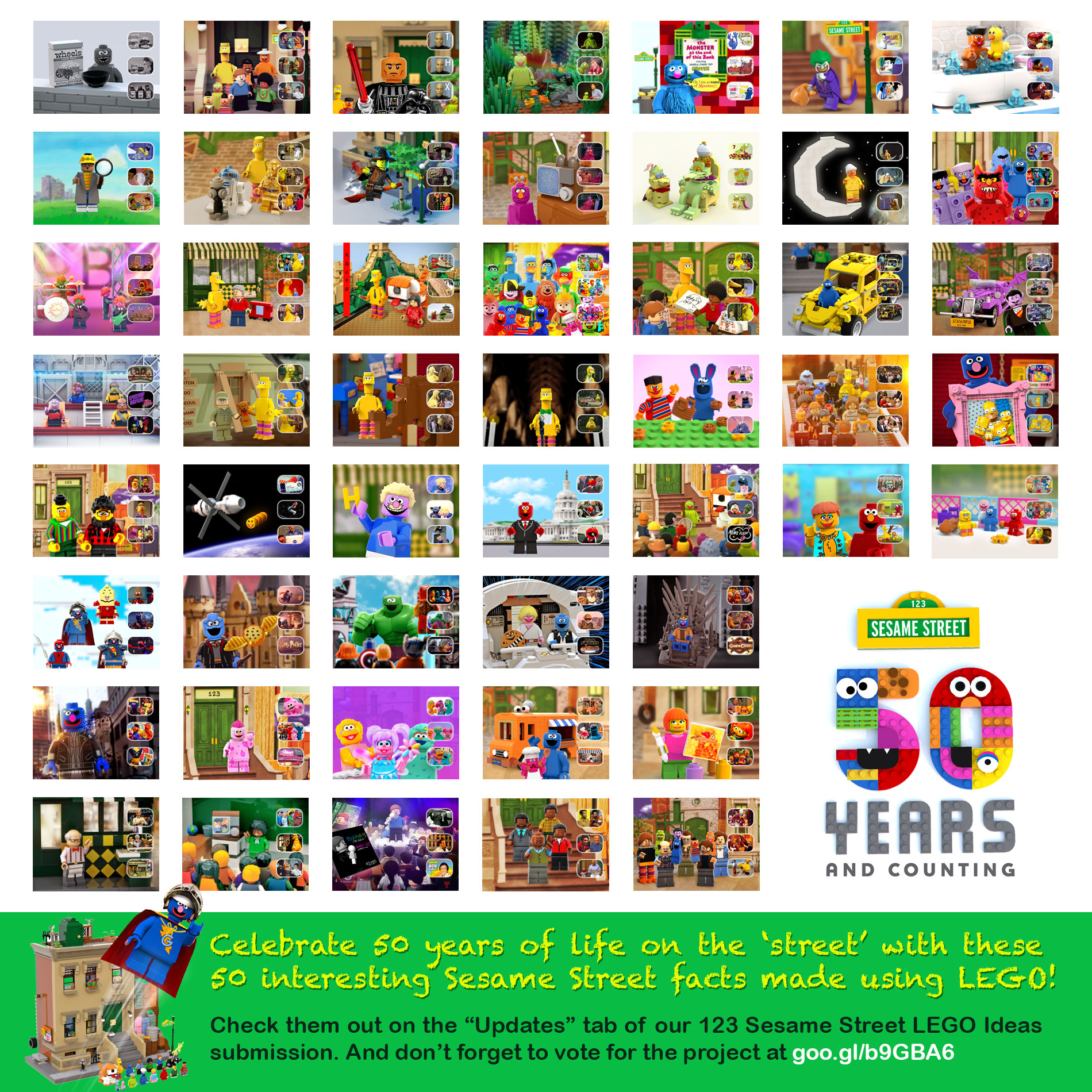 Lego Ideas Product Ideas 123 Sesame Street