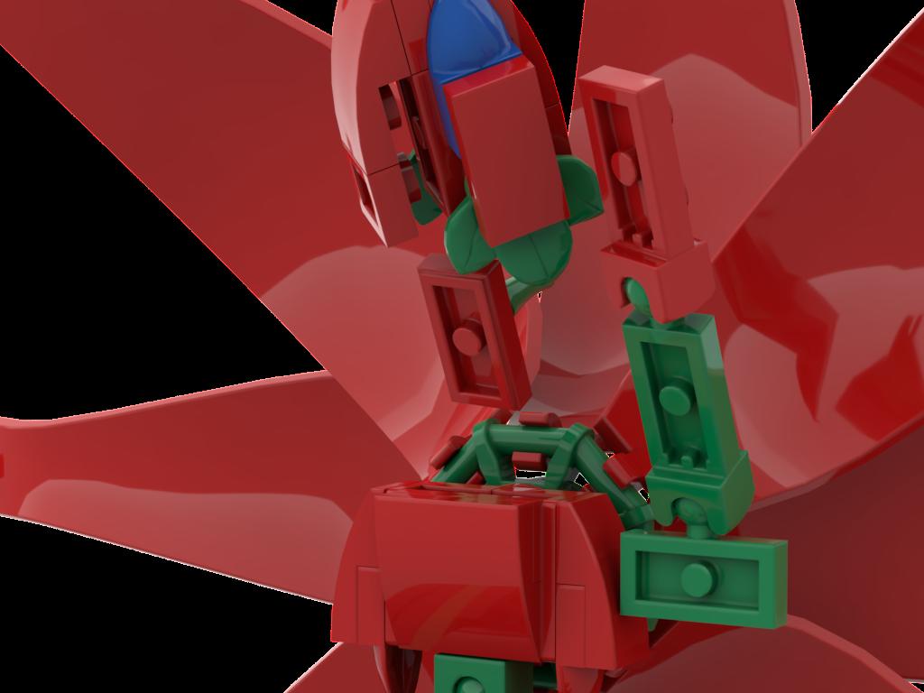 LEGO IDEAS - Product Ideas - Flower Dragon in a Vase