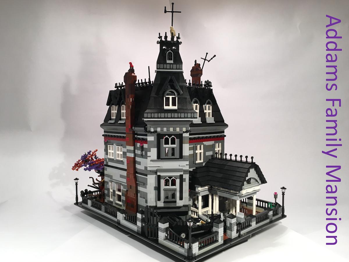 LEGO IDEAS - Product Ideas - Addams Family Mansion