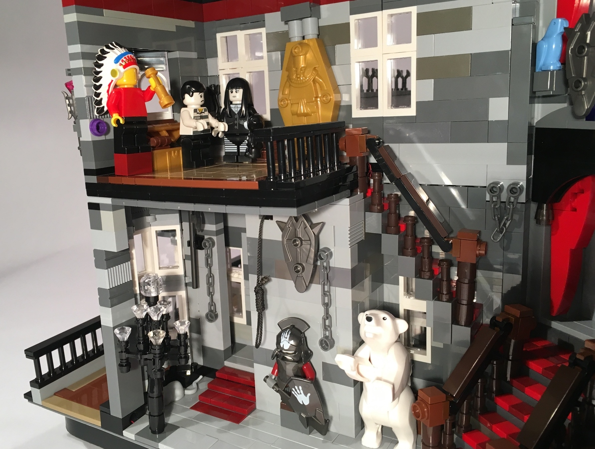 Lego Ideas Product Ideas Addams Family Mansion