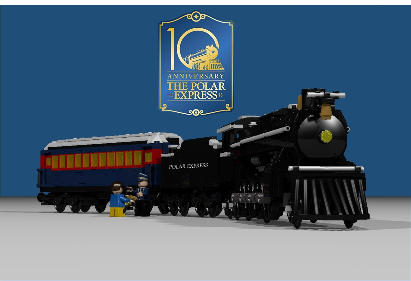 LEGO IDEAS - Product Ideas - The Polar Express 10th Anniversary
