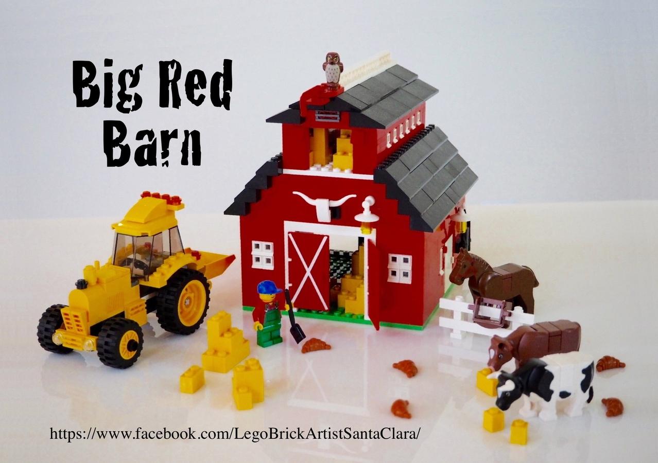Lego Ideas Product Ideas Big Red Barn