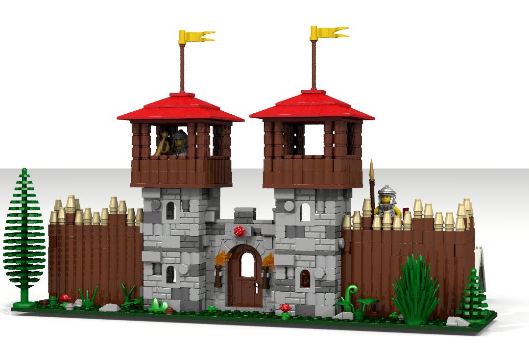 Lego Ideas Product Ideas Roman Fort