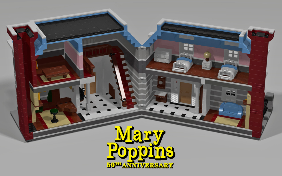 Lego Ideas Product Ideas Mary Poppins 50th Anniversary