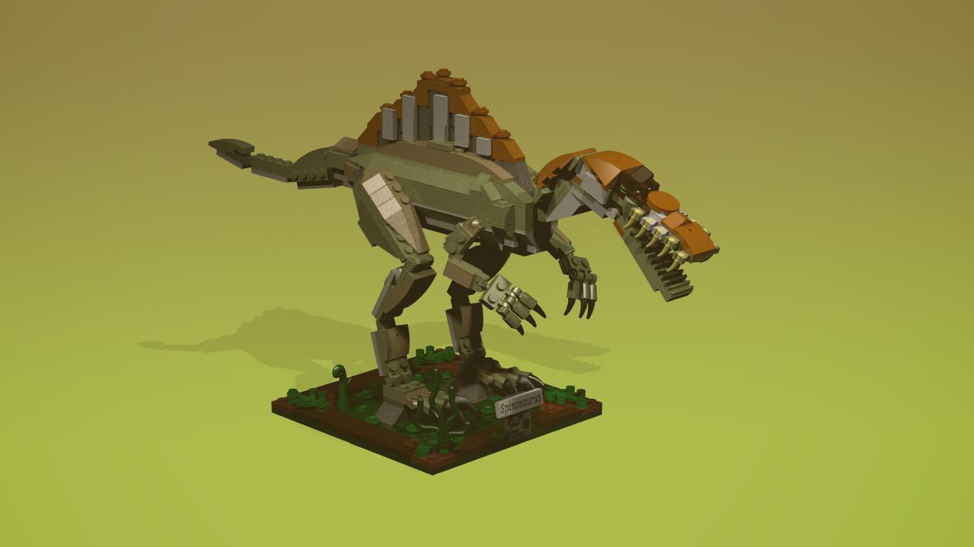 Lego ideas product ideas spinosaurus - Lego dinosaurs spinosaurus ...