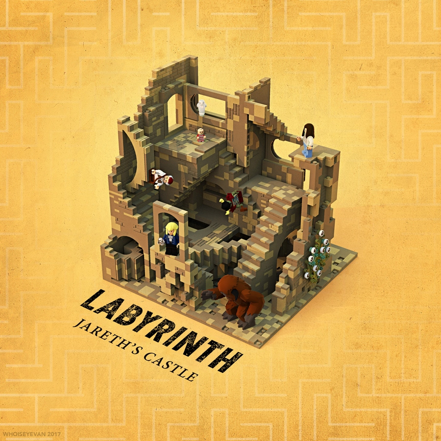 LEGO IDEAS - Product Ideas - Labyrinth - Jareth's Castle