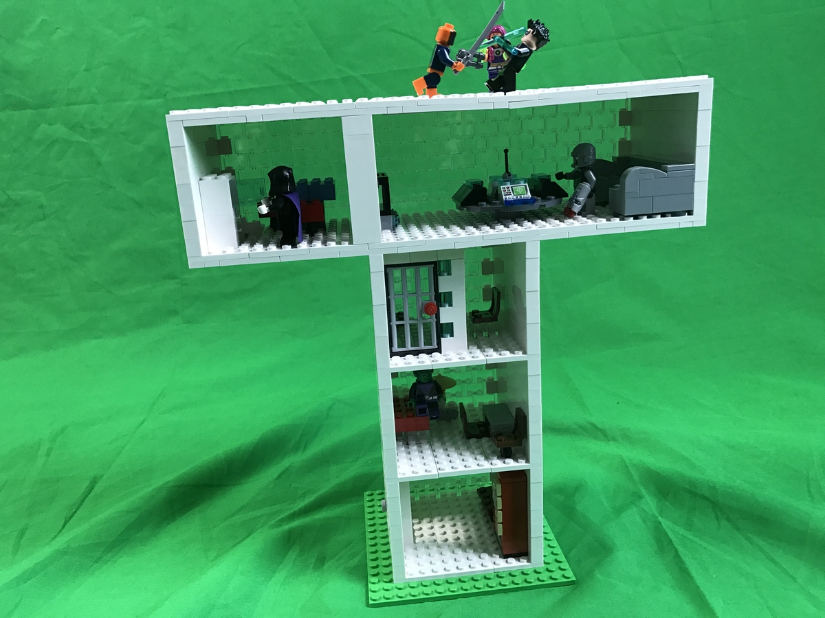 Lego Ideas - Product Ideas - Lego- Teen Titans Tower Attack-6104