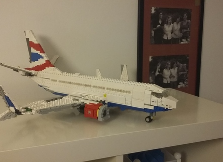 Lego Ideas Boeing 737 500 Classic