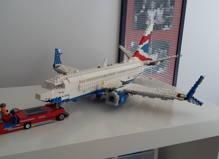 Lego Ideas Product Ideas Boeing 737 500 Classic