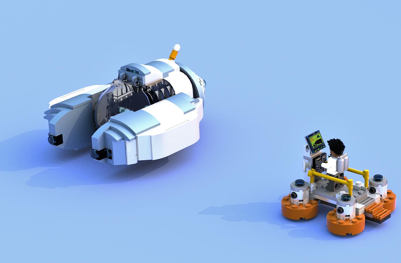 Lego Ideas Product Ideas Subnautica Exploring The Safe Shallows