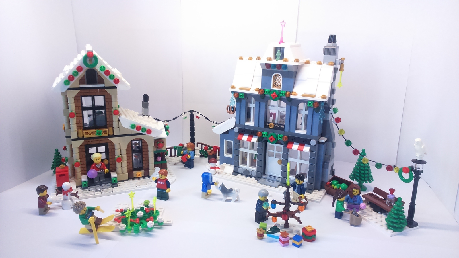 the winter village
