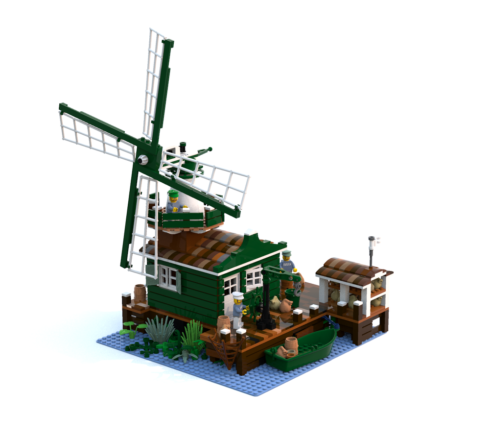 LEGO IDEAS - Product Ideas - The Windmill