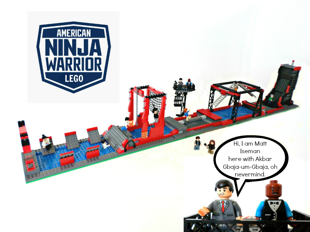 Lego Ideas Product American Ninja Warrior Fun And Easy To Build Buzzer Circuit