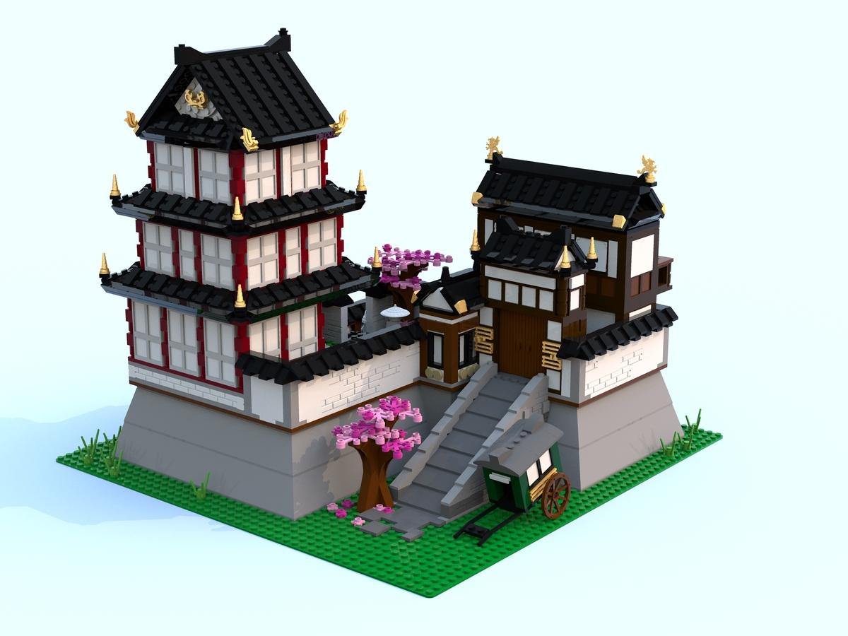 Lego Ideas Product Ideas Japanese Castle